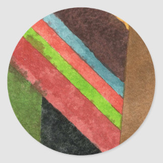 """Chevrons"" Abstract Design Sticker"
