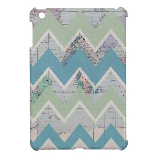 Chevrons Call and the World Answers iPad Mini Cases