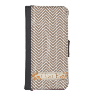 Chevrons iPhone Samsung Galaxy S4 Wallet Case