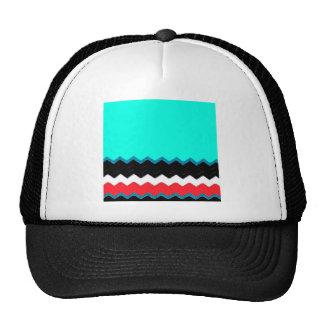 Chevrons Pattern Office Party Shower Peace Destiny Hats