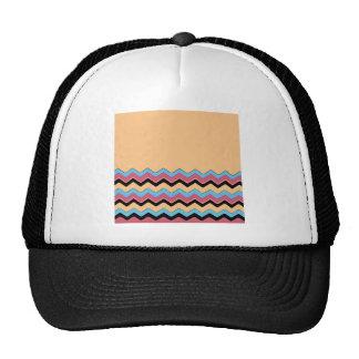 Chevrons Pattern Shower Party Office Peace Destiny Trucker Hat