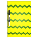 Chevrons Pattern Shower Party Peace Love Destiny Dry Erase Whiteboard