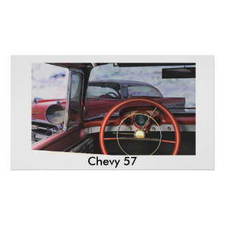 Chevy57 Poster