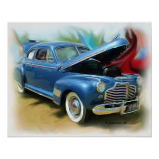 Chevy 1941 poster