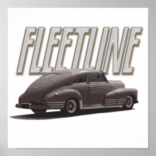 Chevy 1947 Fleetline Posters