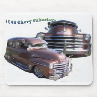 Chevy 1948 suburbano alfombrilla de raton