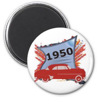 Chevy 1950 imán redondo 5 cm