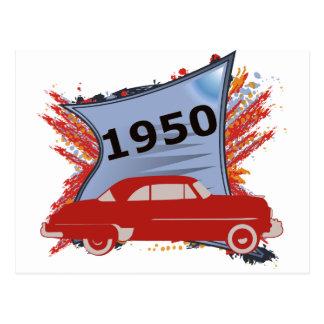 Chevy 1950 postal