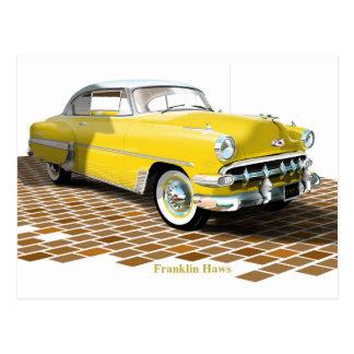 Chevy 1953 tarjetas postales