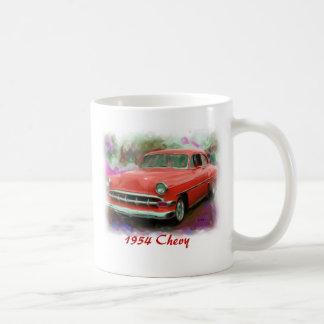 Chevy 1954 taza de café