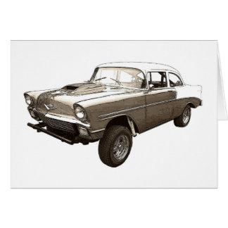 Chevy 1956 Gasser Felicitación