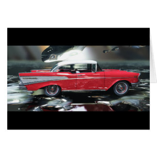 Chevy 1957 greeting cards