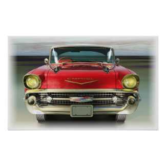 Chevy 1957 poster