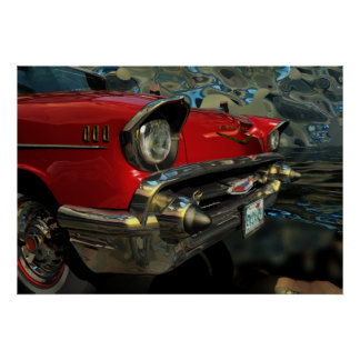 Chevy 1957 impresiones