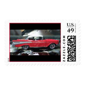 Chevy 1957 stamp