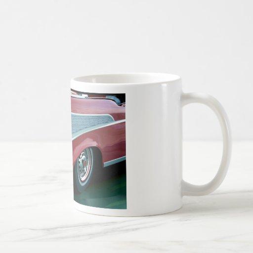 Chevy 1957 taza básica blanca