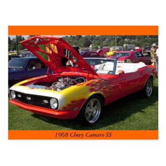 Chevy 1968 Camaro SS Postales