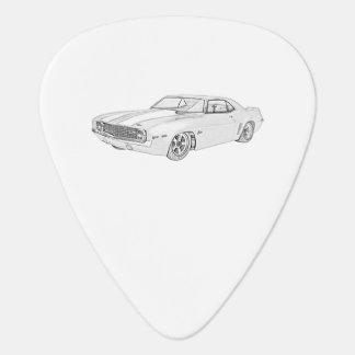 Chevy 1969 Camaro Púa De Guitarra