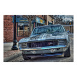 Chevy 1969 Camaro Z/28 en HDR Posters