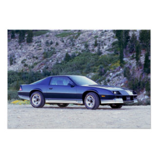 Chevy 1984 Camaro Z28 Impresiones