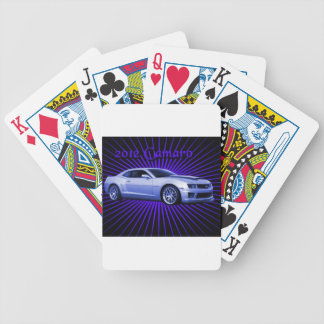 Chevy: 2012 Camaro Bicycle Playing Cards