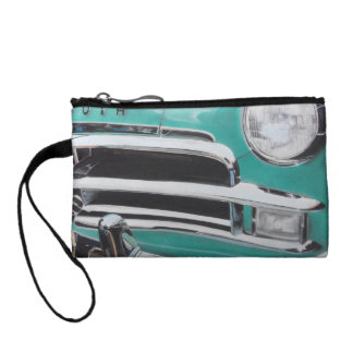 Chevy and Plymouth 1950's Clutch Change Purses