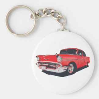 Chevy Bel Air vector illustration Keychain