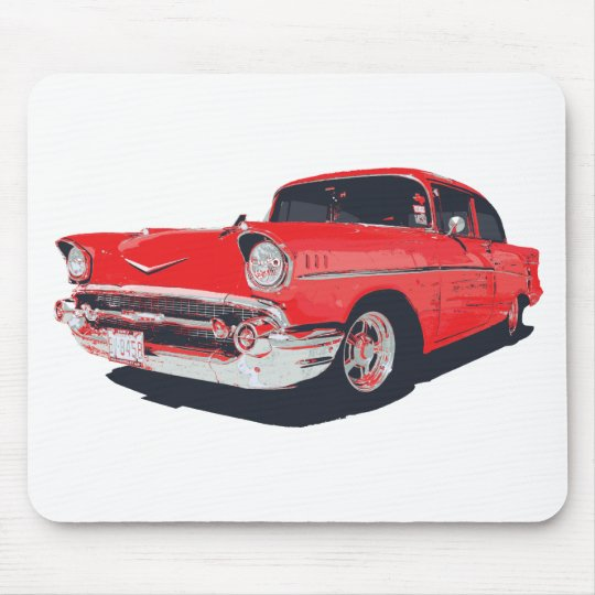 Chevy Bel Air vector illustration Mouse Pad