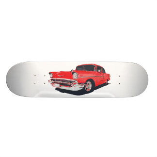 Chevy Bel Air vector illustration Skateboard Deck