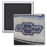 Chevy Bowtie 2 Inch Square Magnet