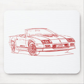 Chevy Camaro 1990 IROC conv Mouse Pads