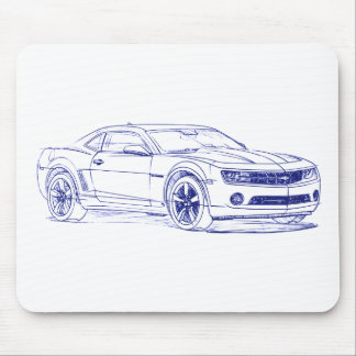 Chevy Camaro 2009 Mouse Pad