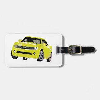 Chevy Camaro Art Luggage Tag