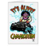 Chevy Camaro Black SS Cards