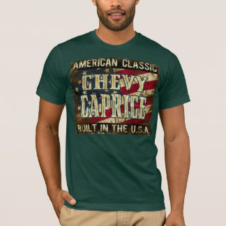 Chevy Caprice - Classic Car Built in the USA T-Shirt