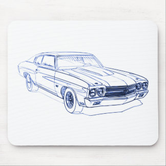Chevy Chevelle 1970 SS Mouse Pad