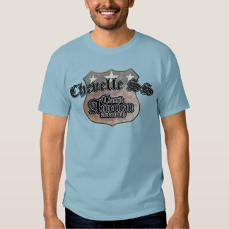 Chevy Chevelle SS Classic - Faded Hues Rte 66 Sign Dresses