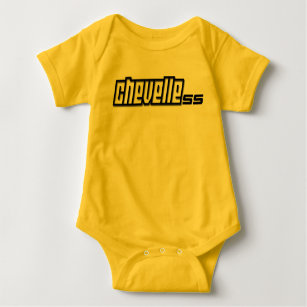 03fbdcdd Chevy Chevelle SS Super Sport Muscle Car Baby Bodysuit