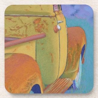 Chevy - chevrolet truck drink coaster
