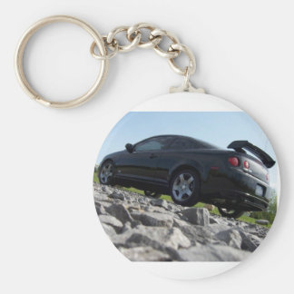 Chevy Cobalt SS supercharged on rocks key chain