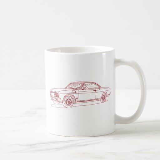 Chevy Corvair 1965 Mugs