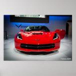 Chevy Corvette Stingray Poster