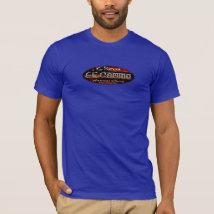 Chevy El Camino - Oval Flag Emblem Classic T-Shirt