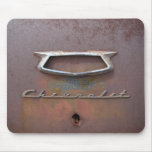 chevy emblem         rusty mouse pad