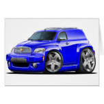 Chevy HHR Blue Panel Truck Greeting Cards