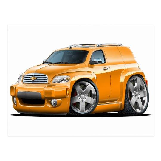 Chevy HHR Orange Panel Truck Postcard | Zazzle.com
