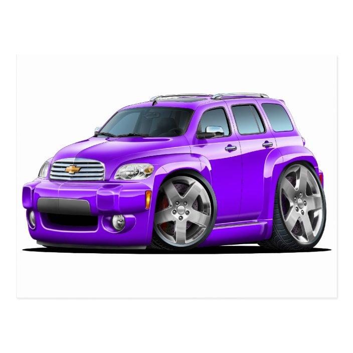 Chevy Hhr Purple Truck Postcard Zazzle Com