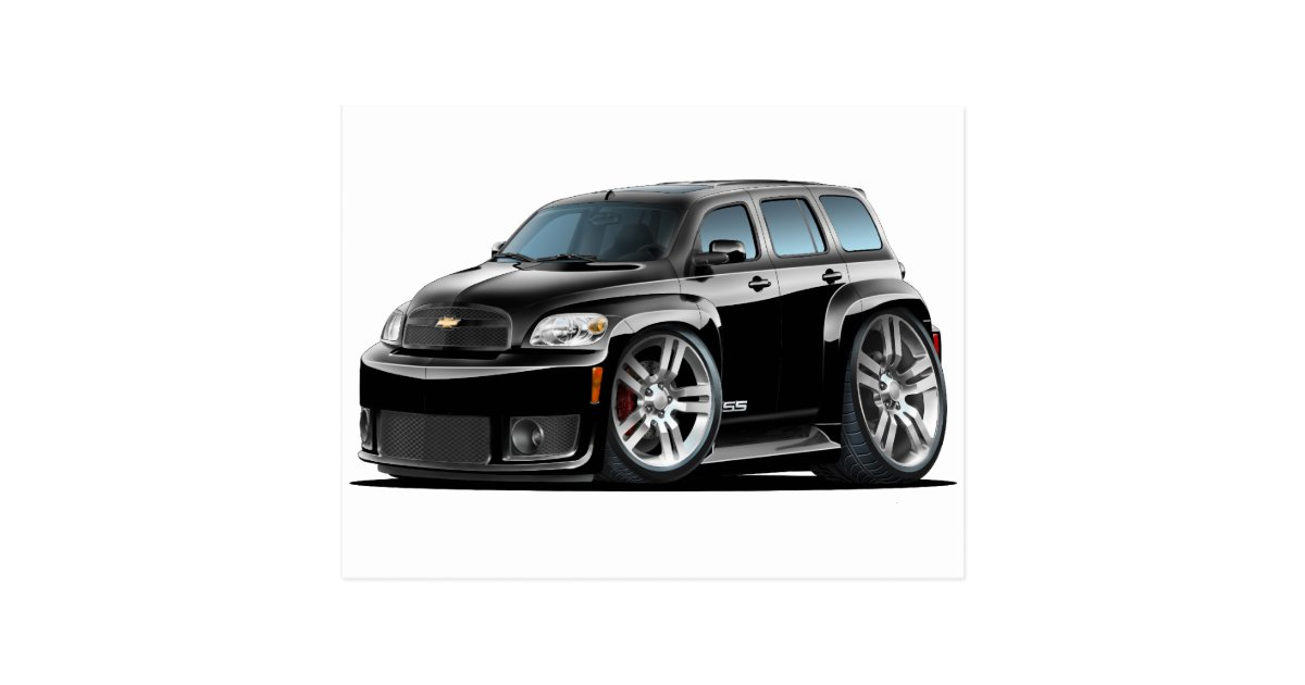 Chevy Hhr Ss Black Truck Postcard Zazzle Com