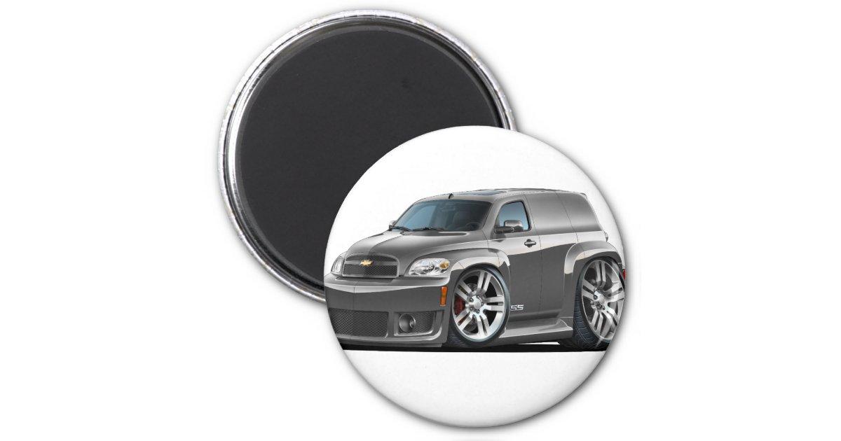 Chevy Hhr Ss Grey Panel Truck Magnet Zazzle Com