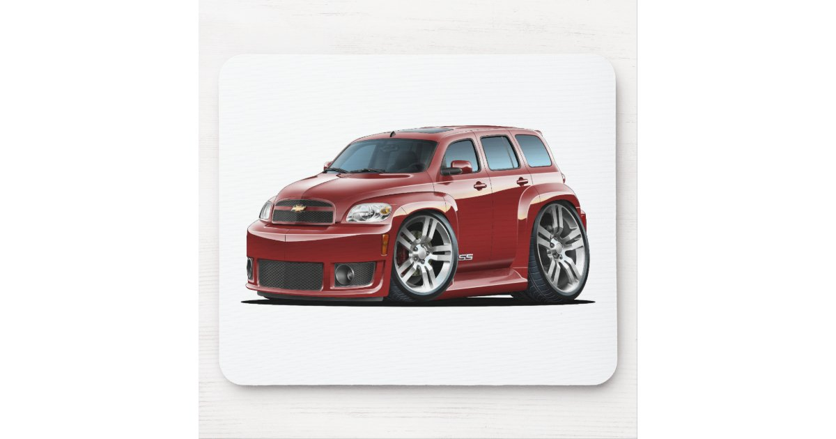 Chevy Hhr Ss Maroon Truck Mouse Pad Zazzle Com